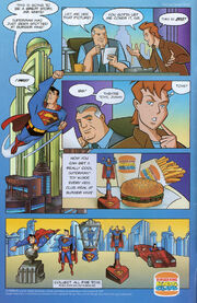 Burger King Superman Kids Club Meal toys ad 1997