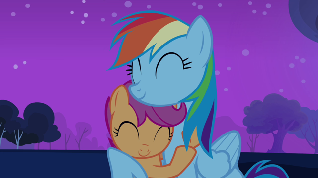 File:640px-Rainbow Dash takes Scootaloo under her wing S3E06.png