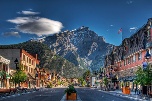 File:Beautiful-town-in-the-shadow-of-a-mountain-hdr-321486.jpg