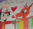 Pokemon Cuddled Red