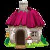 Small Cottage 12magenta
