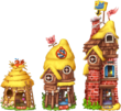 Fairytales House 3 Little Pigs Level 1to3
