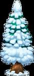 Xmas Decoration Snow Tree