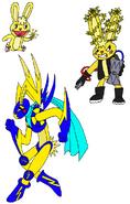 Pokemon HTF Cuddles by Skooterwolf