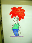 The Phantom Doodler Strikes Stu's New Whiteboard
