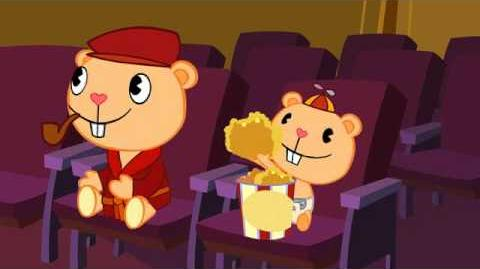 Pop Corn Happy Tree Friends