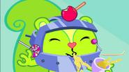 Nutty hates apple juice
