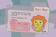 Disco Bear's Collect Them All Card