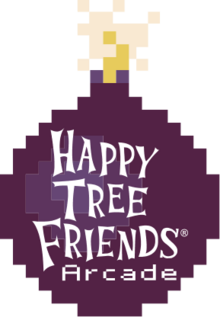 Happy Tree Friends Arcade Bomb Logo by HappySmile33