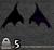 Devil wing