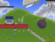 Happy Wheels iOS - Retina Display Preview