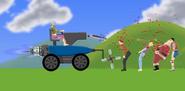Custom Vehicle with both jets and an arrow gun
