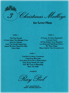 File:Three Christmas Medleys for Lever Harp by Ray Pool.jpg