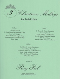 File:Three Christmas Medleys for Pedal Harp by Ray Pool.jpg