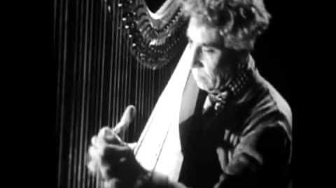 Harpo Marx Plays Serious