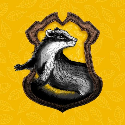 File:Hufflepuff Crest Drawn.png