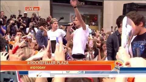 One Direction - What Makes You Beautiful - Today Show Performance (August 2013)