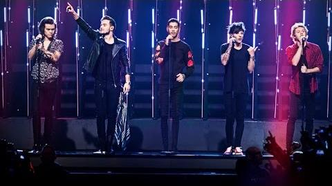 One Direction sjunger Steal my girl under finalen av Idol 2014 - Idol Sverige