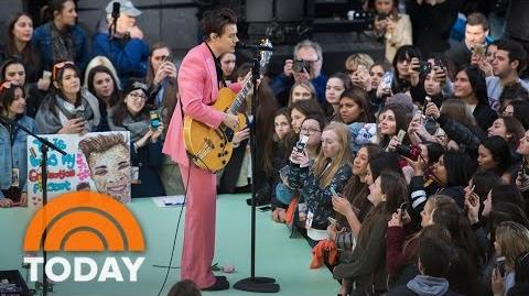 Harry Styles Performs 'Ever Since New York' On The TODAY Plaza TODAY