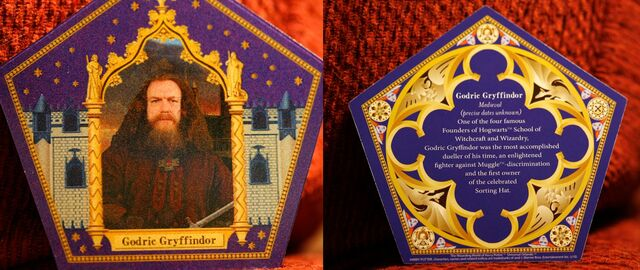 File:Godric Gryffindor Chocolate Frog Card WWHP.jpg