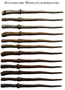 Pottermore wands