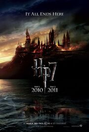 Harry potter and the deathly hallows part 1 2 poster