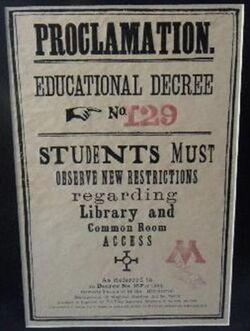 Educational Decree 129