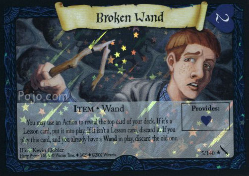 File:Broken Wand (Harry Potter Trading Card - Foil).jpg