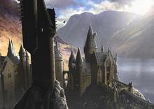 Hogwarts Castle OotP concept art