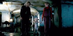 06 Dobby rescuing Mr. Ollivander and Luna Lovegood
