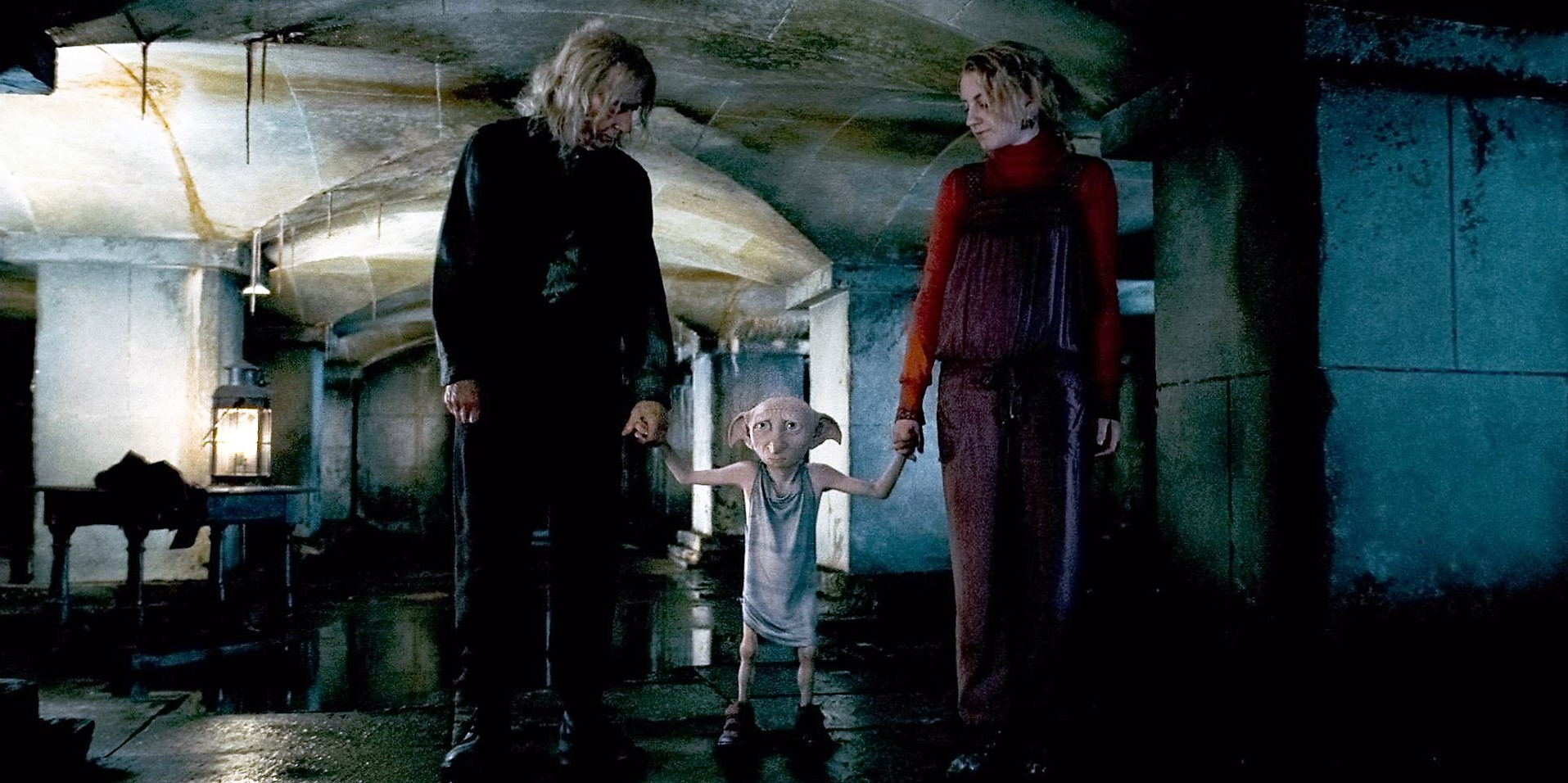 06 Dobby rescuing Mr. Ollivander and Luna Lovegood.jpg