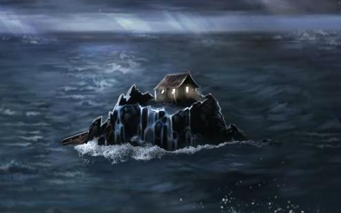 La Cabane sur le Rocher