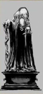 Statue of Gunhilda of Gorsemoor (also known as One-Eyed Witch)