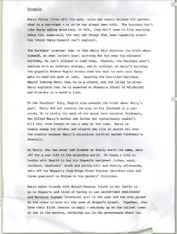 File:Original synopsis of 'Philosophers Stone'.jpg