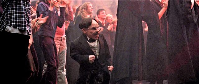 File:Flitwick cheering for Fred and George.jpg