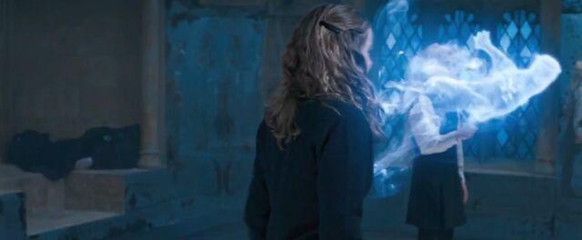 File:Hermione Casts Her Patronus.jpg