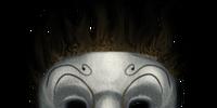 Evil-looking masks