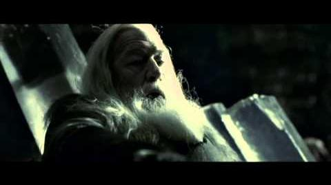 Harry Potter and the Half-Blood Prince - Dumbledore's firestorm (HD)