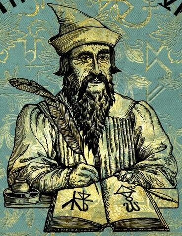 File:Beedle The Bard on the cover of his own tales.jpg