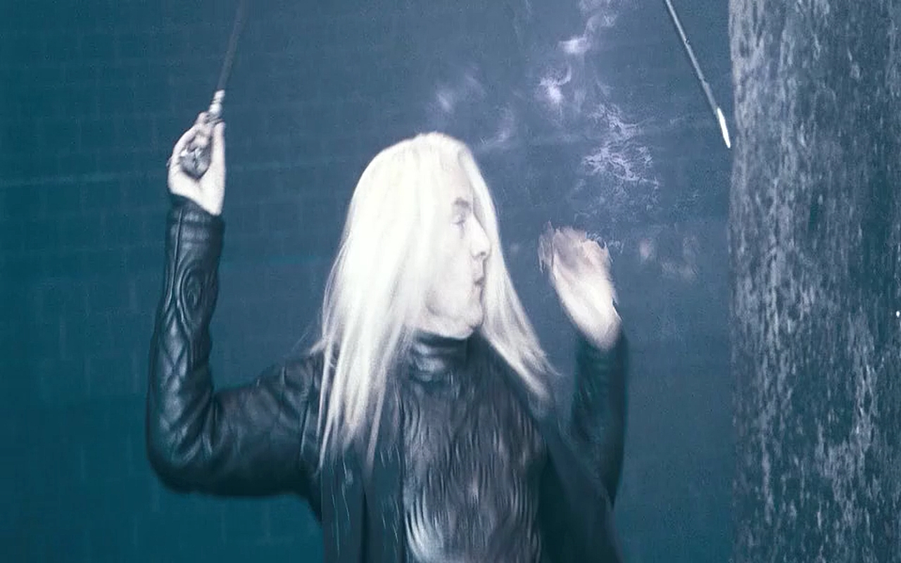Pottermore book 2 lucius malfoy cane
