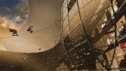 Quidditch World Cup Stadium Interior 1994