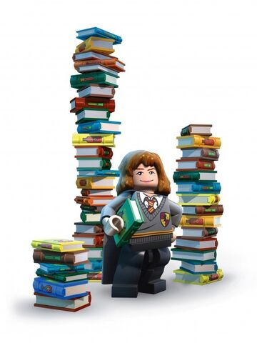 File:Hermione books Lego Years 1 to 4.jpg
