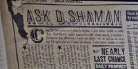 Ask D. Shaman