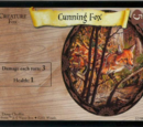 Cunning Fox (Trading Card)
