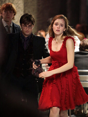 File:Ron, Harry and Hermione wedding attire.jpg