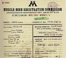 Rubeus Hagrid's file