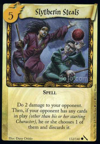 File:Slytherin Steals (Harry Potter Trading Card).jpg