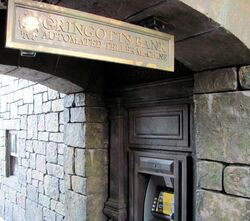 Gringotts Bank ATM