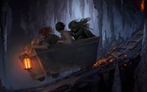 Gringotts Cart