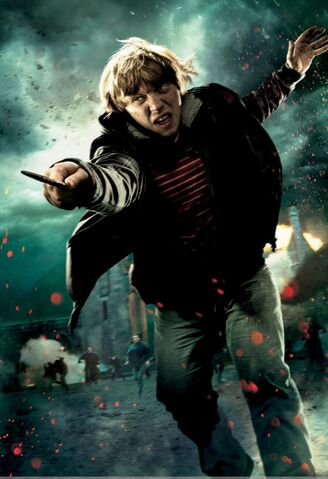 File:TDHp2 Textless Poster Ron action.jpg